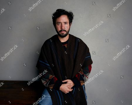 """Director Sebastian Hofmann poses for a portrait to promote the film, """"Time Share"""", at the Music Lodge during the Sundance Film Festival, in Park City, Utah"""