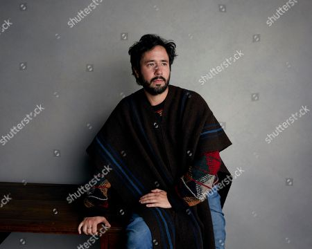 "Director Sebastian Hofmann poses for a portrait to promote the film, ""Time Share,"" at the Music Lodge during the Sundance Film Festival, in Park City, Utah"