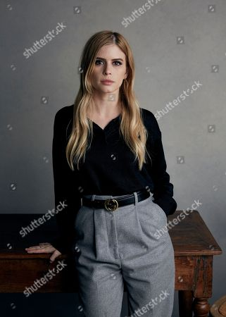 """Writer/director Carlson Young poses for a portrait to promote """"The Blazing World"""", at the Music Lodge during the Sundance Film Festival, in Park City, Utah"""