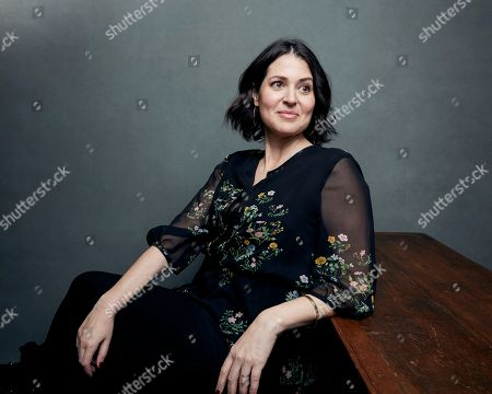 "Director/producer Alexandra Shiva poses for a portrait to promote the film, ""This Is Home: A Refugee Story,"" at the Music Lodge during the Sundance Film Festival, in Park City, Utah"