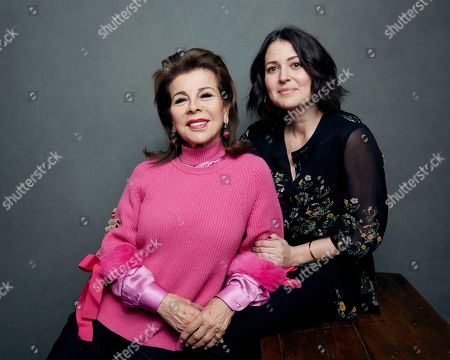 "Stock Picture of Alexandra Shiva, Princess Firyal of Jordan. Director Alexandra Shiva, right, and producer Princess Firyal of Jordan pose for a portrait to promote the film, ""This Is Home: A Refugee Story,"" at the Music Lodge during the Sundance Film Festival, in Park City, Utah"