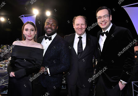 Sarah Sutherland, Sam Richardson, Dan Bakkedahl, and Nelson Franklin