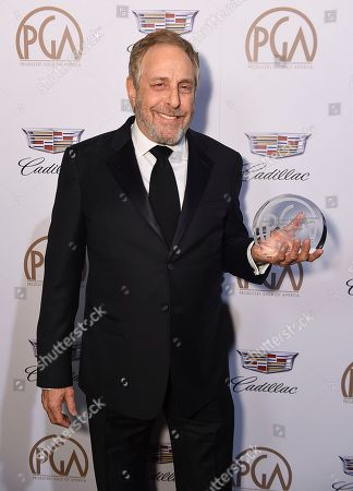 Charles Roven, recipient of the David O. Selznick achievement award in theatrical motion pictures at the 29th Producers Guild Awards presented by Cadillac at Beverly Hilton, in Beverly Hills, Calif