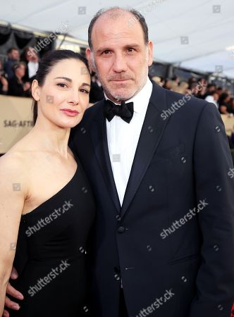 Editorial image of 24th Annual Screen Actors Guild Awards, Arrivals, Los Angeles, USA - 21 Jan 2018