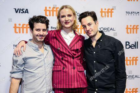 Jason Sanchez, Evan Rachel Wood and Carlos Sanchez