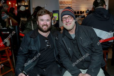 Stock Photo of Haley Joel Osment and Chris Elliott seen at The Music Lodge during the 2018 Sundance Film Festival on in Sundance