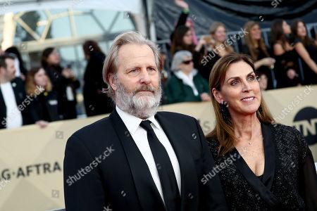 Jeff Daniels and Kathleen Rosemary Treado