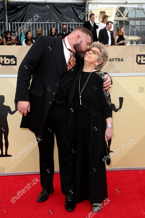 Editorial picture of 24th Annual Screen Actors Guild Awards, Arrivals, Los Angeles, USA - 21 Jan 2018