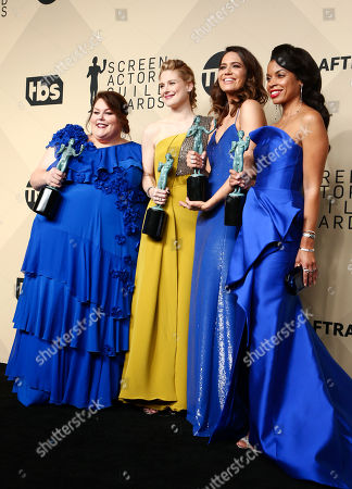 Cast of 'This Is Us' - Chrissy Metz, Alexandra Breckenridge, Mandy Moore and Susan Kelechi Watson