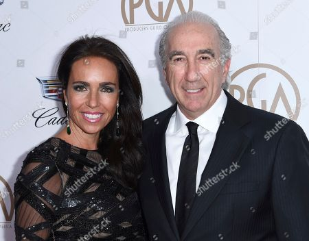Gary Barber, Nadine Barber. Gary Barber, right, and Nadine Barber arrive at the 29th annual Producers Guild Awards at the Beverly Hilton, in Beverly Hills, Calif