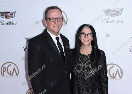 Bruce Anderson, Lori Forte. Bruce Anderson, left, and Lori Forte arrive at the 29th annual Producers Guild Awards at the Beverly Hilton, in Beverly Hills, Calif
