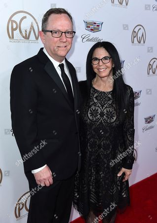 Bruce Anderson, Lori Forte. Bruce Anderson, left, and Lori Forte arrive at the 29th Producers Guild Awards presented by Cadillac at Beverly Hilton, in Beverly Hills, Calif