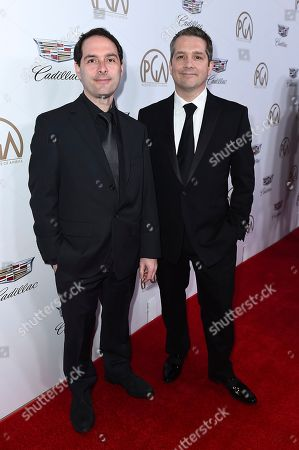Alex Heffes, Stephen McDonogh. Alex Heffes, left, Stephen McDonogh arrive at the 29th Producers Guild Awards presented by Cadillac at Beverly Hilton, in Beverly Hills, Calif