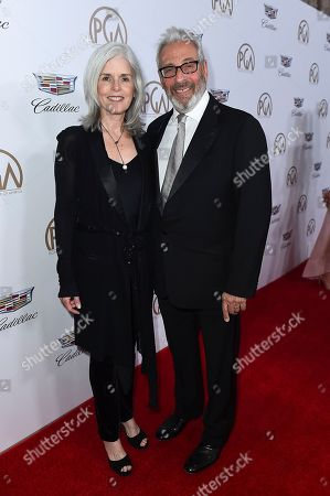 Molly Koch, Hawk Koch. Molly Koch, left, and Hawk Koch arrive at the 29th Producers Guild Awards presented by Cadillac at Beverly Hilton, in Beverly Hills, Calif