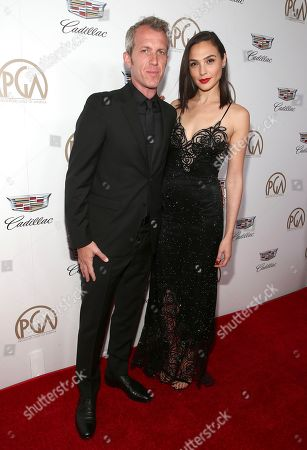 Yaron Versano, Gal Gadot. Yaron Versano, left, and Gal Gadot arrive at the 29th Producers Guild Awards presented by Cadillac at Beverly Hilton, in Beverly Hills, Calif