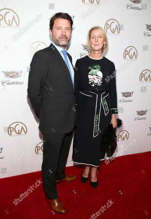 Benjamin Caron, Suzanne Mackie. Benjamin Caron, left, and Suzanne Mackie arrive at the 29th Producers Guild Awards presented by Cadillac at Beverly Hilton, in Beverly Hills, Calif