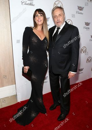Patty Jenkins, Charles Roven. Patty Jenkins, left, and Charles Roven arrive at the 29th Producers Guild Awards presented by Cadillac at Beverly Hilton, in Beverly Hills, Calif