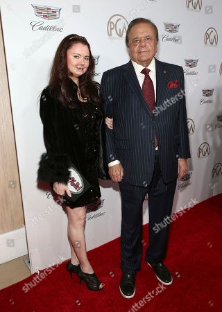 Dee Dee Benkie, Paul Sorvino. Dee Dee Benkie, left, and Paul Sorvino arrive at the 29th Producers Guild Awards presented by Cadillac at Beverly Hilton, in Beverly Hills, Calif