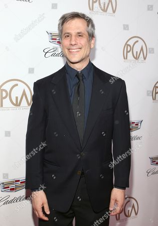 Barry Mendel arrives at the 29th Producers Guild Awards presented by Cadillac at Beverly Hilton, in Beverly Hills, Calif