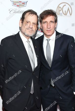 Howard Rosenman, Peter Spears. Howard Rosenman, left, and Peter Spears arrive at the 29th Producers Guild Awards presented by Cadillac at Beverly Hilton, in Beverly Hills, Calif