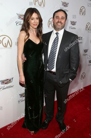 Jackie Schaffer, Jeff Schaffer. Jackie Schaffer, left, and Jeff Schaffer arrive at the 29th Producers Guild Awards presented by Cadillac at Beverly Hilton, in Beverly Hills, Calif