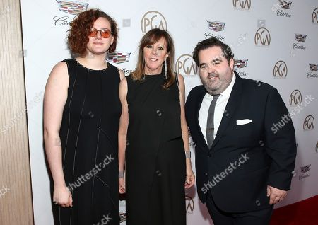 Isabella Hatkoff, Jane Rosenthal, Berry Welsh. Isabella Hatkoff, from left, Jane Rosenthal and Berry Welsh arrive at the 29th Producers Guild Awards presented by Cadillac at Beverly Hilton, in Beverly Hills, Calif