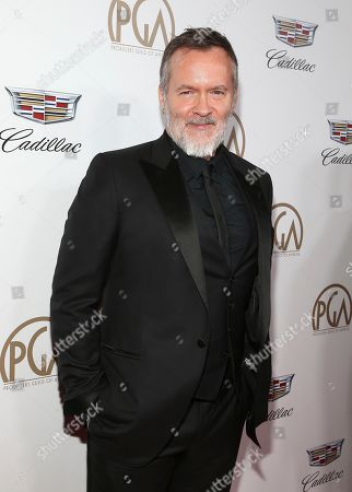 Chris McKay arrives at the 29th Producers Guild Awards presented by Cadillac at Beverly Hilton, in Beverly Hills, Calif