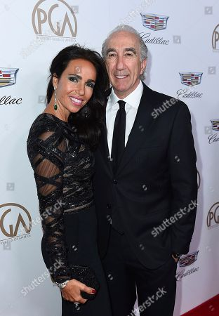 Nadine Barber, Gary Barber. Nadine Barber, left, and Gary Barber arrive at the 29th Producers Guild Awards presented by Cadillac at Beverly Hilton, in Beverly Hills, Calif