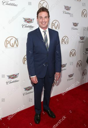 Steven Rogers arrives at the 29th Producers Guild Awards presented by Cadillac at Beverly Hilton, in Beverly Hills, Calif