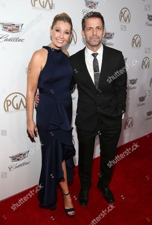 Deborah Snyder, Zack Snyder. Deborah Snyder, left, and Zack Snyder arrive at the 29th Producers Guild Awards presented by Cadillac at Beverly Hilton, in Beverly Hills, Calif