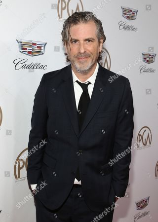 Brett Morgen arrives at the 29th Producers Guild Awards presented by Cadillac at Beverly Hilton, in Beverly Hills, Calif