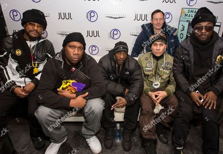 KRS-One, Rakim, Jason Isaac, Taboo, will.i.am. Apl.de.ap, KRS-One, Rakim, Jason Isaac, Taboo and will.i.am seen at the JetSmarter Film Summit at Park City Live, in Park City, Utah