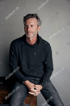 "Writer/director Andrew Heckler poses for a portrait to promote the film ""Burden"" at the Music Lodge during the Sundance Film Festival, in Park City, Utah"