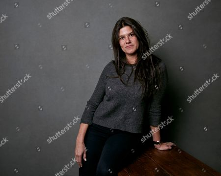 "Producer Robbie Brenner poses for a portrait to promote the film ""Burden"" at the Music Lodge during the Sundance Film Festival, in Park City, Utah"