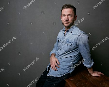 """Austin Hebert poses for a portrait to promote the film """"Burden"""" at the Music Lodge during the Sundance Film Festival, in Park City, Utah"""