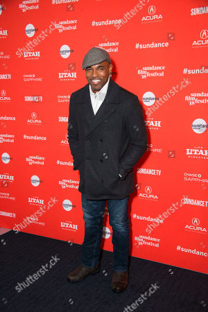 341461fda56b Actor Jason George poses during the premiere of