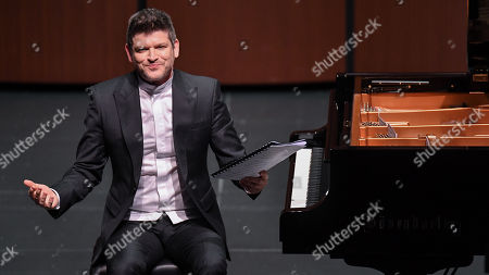 Editorial image of Ory Shihor 'Last Thoughts: Schubert's Final Works' premiere, The Wallis Annenberg Center for the Performing Arts, Los Angeles, USA - 20 Jan 2018