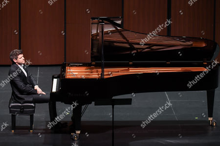 Editorial photo of Ory Shihor 'Last Thoughts: Schubert's Final Works' premiere, The Wallis Annenberg Center for the Performing Arts, Los Angeles, USA - 20 Jan 2018