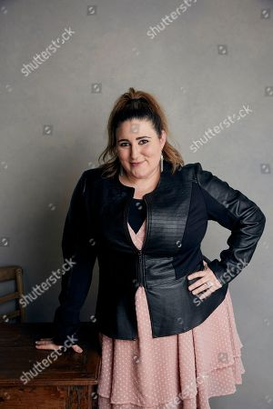 Kaycee Stroh poses for a portrait at the Music Lodge during the Sundance Film Festival, in Park City, Utah