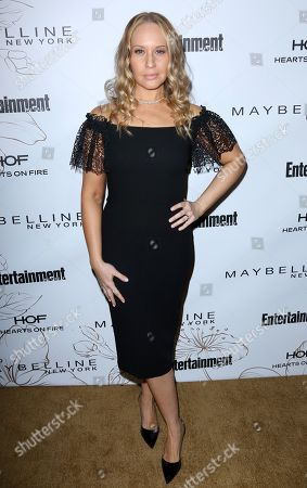 Kelly Karbacz arrives at the Entertainment Weekly Honors Nominees for the 24th Annual SAG Awards event at the Chateau Marmont Hotel, in Los Angeles