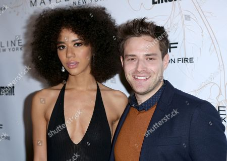 Jasmin Savoy Brown, Ben Rappaport. Jasmin Savoy Brown, left, and Ben Rappaport arrive at the Entertainment Weekly Honors Nominees for the 24th Annual SAG Awards event at the Chateau Marmont Hotel, in Los Angeles