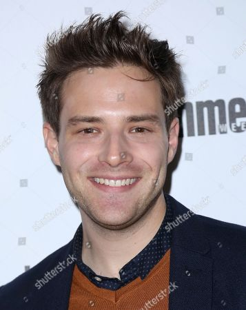 Ben Rappaport arrives at the Entertainment Weekly Honors Nominees for the 24th Annual SAG Awards event at the Chateau Marmont Hotel, in Los Angeles