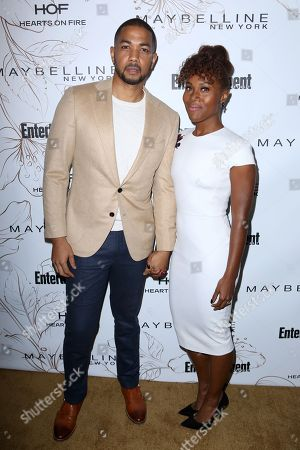 Alano Miller, DeWanda Wise. Alano Miller, left, and DeWanda Wise arrive at the Entertainment Weekly Honors Nominees for the 24th Annual SAG Awards event at the Chateau Marmont Hotel, in Los Angeles