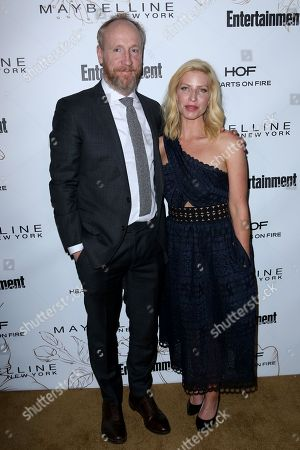 Matt Walsh, Morgan Walsh. Matt Walsh, left, and Morgan Walsh arrive at the Entertainment Weekly Honors Nominees for the 24th Annual SAG Awards event at the Chateau Marmont Hotel, in Los Angeles