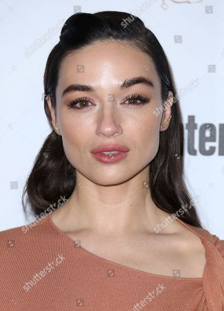 Crystal Reed arrives at the Entertainment Weekly Honors Nominees for the 24th Annual SAG Awards event at the Chateau Marmont Hotel, in Los Angeles