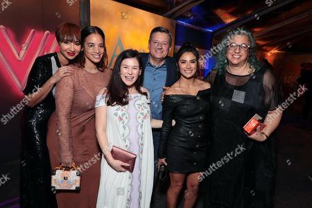 Jackie Cruz, Dascha Polanco, Yael Stone, Ted Sarandos, Chief Content Officer, Netflix, Diane Guerrero, Jenji Kohan