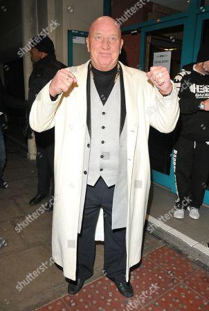 Editorial image of Celebrity Boxfest charity boxing match, The Troxy, London, UK - 20 Jan 2018
