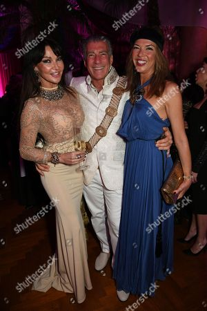 Lizzie Cundy, Steve Varsano, Heather Kerzner