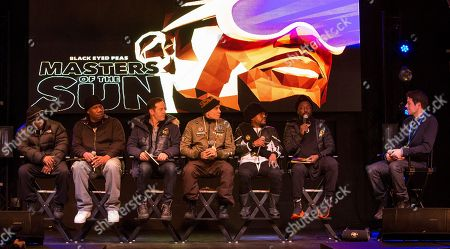 Rakim, KRS-One, Jason Isaac, Taboo, apl.de.ap, will.i.am, Ben Lyons. Rakim, KRS-One, Jason Isaac, Taboo, apl.de.ap, will.i.am and Ben Lyons seen at the JetSmarter Film Summit at Park City Live, in Park City, Utah