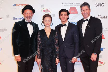 Editorial photo of 45th annual German Filmball 2018 at Hotel Bayerischer Hof, Munich, Germany - 20 Jan 2018